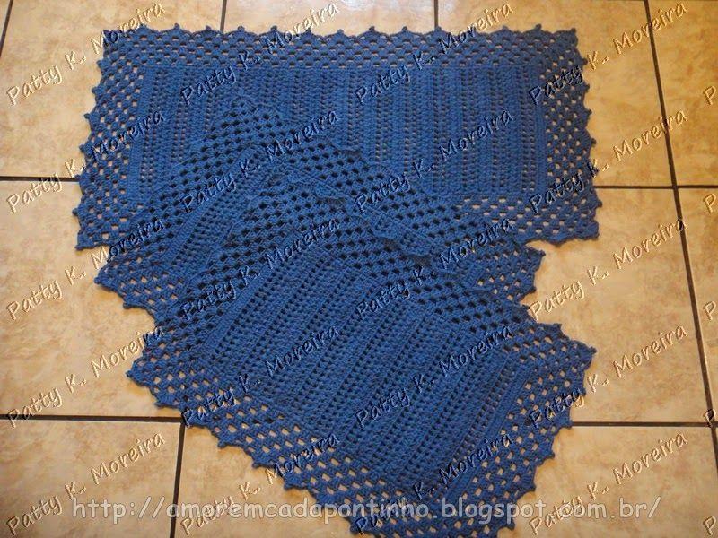 Tapete Azul Royal por Patty K. Moreira
