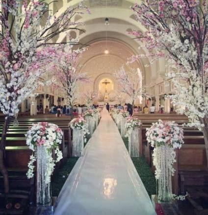 34 New ideas wedding ceremony decorations church alter