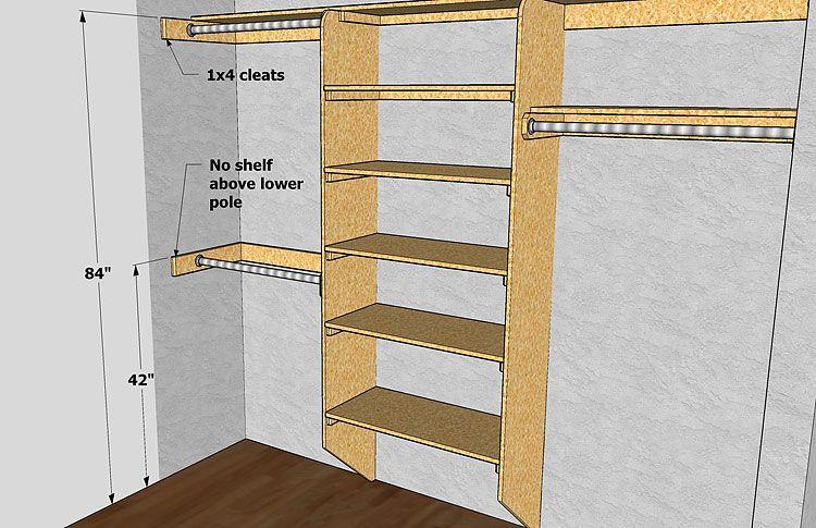 Gary Katz Online Closet Shelves Diy Closet Shelves Closet Shelving Design