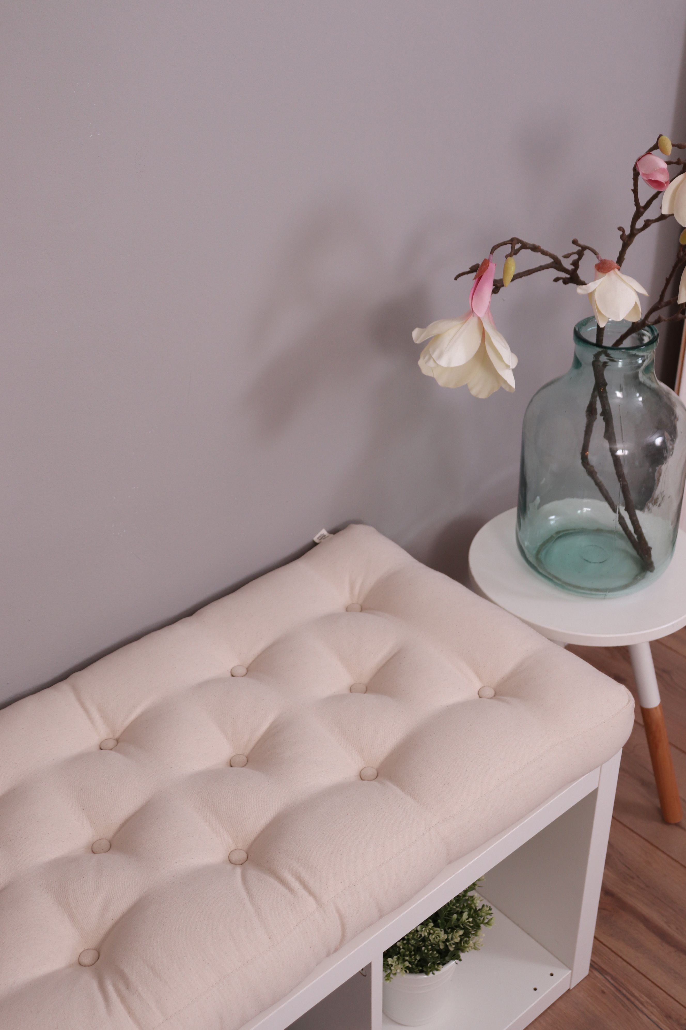 3 Tufted Seat Cushion Home Of Wool All Natural Decor Bedding Kallax Ikea Bench Cushions Ikea Window Seat