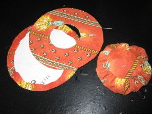 Chapeau de Lavande en tissu provençal - paminatelier.com   -  les tutos de Pamina #chutedetissu
