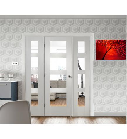 Easi Frame System Provides The Ultimate Flexibility For Room Divider Design Emeralddoors Whitedoors