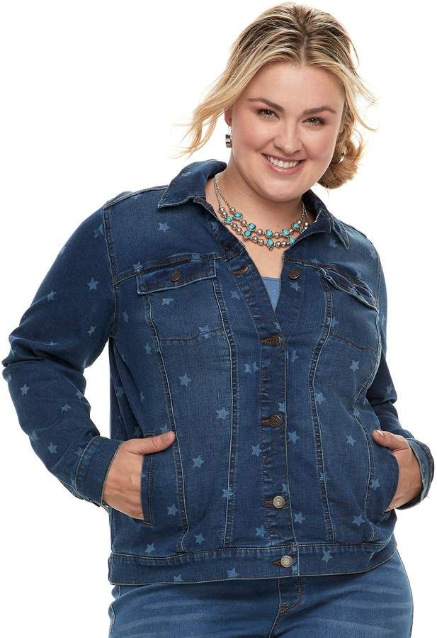 00d58d46d9d Sonoma Goods For Life Plus Size SONOMA Goods for Life Jean Jacket ...