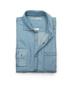 H.E. by MANGO - SLIM-FIT COTTON SHIRT