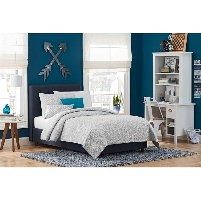 Wade Loganu0027s Upholstered Littrell Bed Has A Versatile Style That Everyone  Can Relax Into. Meticulous, Detailed Tufting On The Headboard In  Attractive, ...