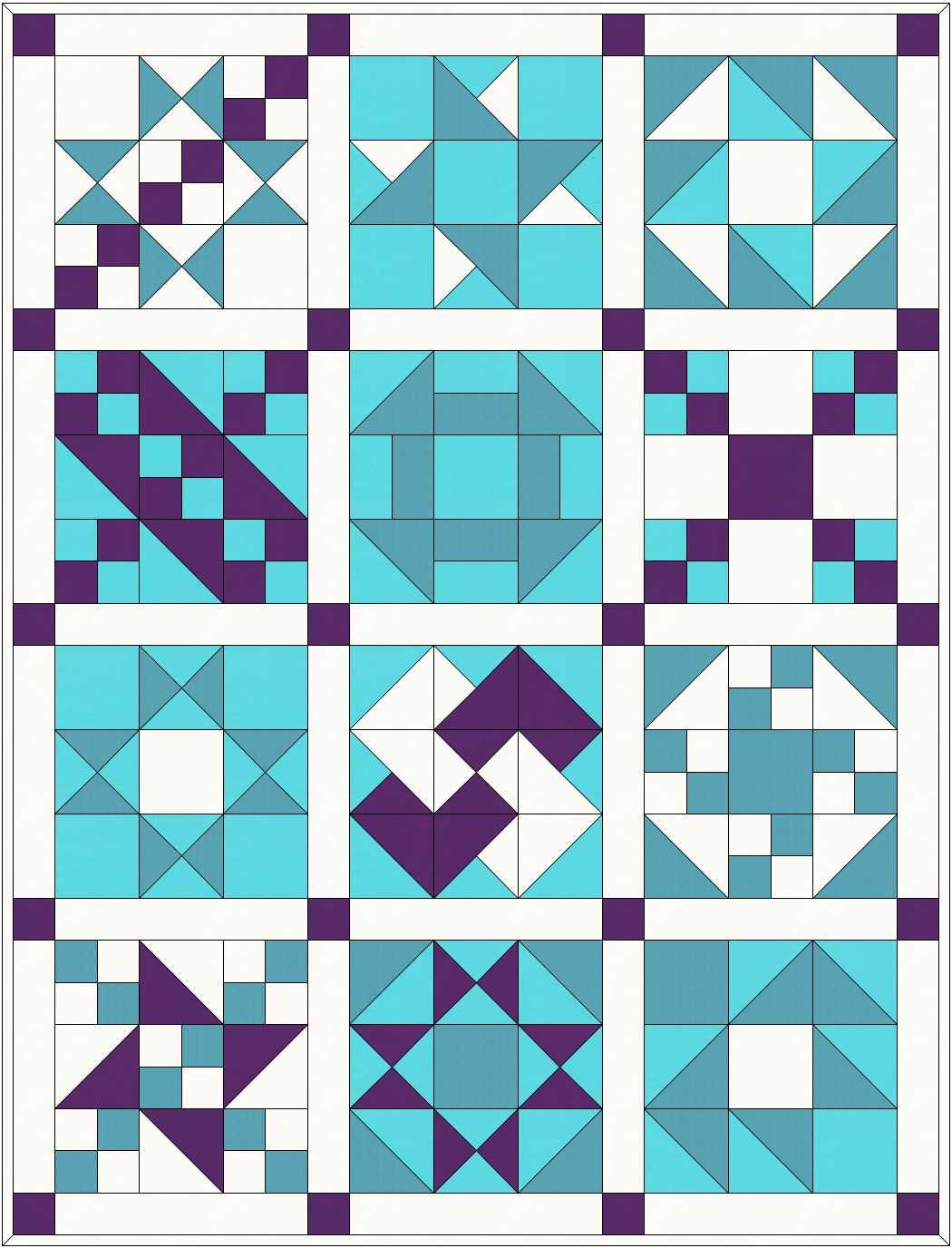 Traditional Patchwork Quilt Pattern And Tutorial Part 1 Quilts