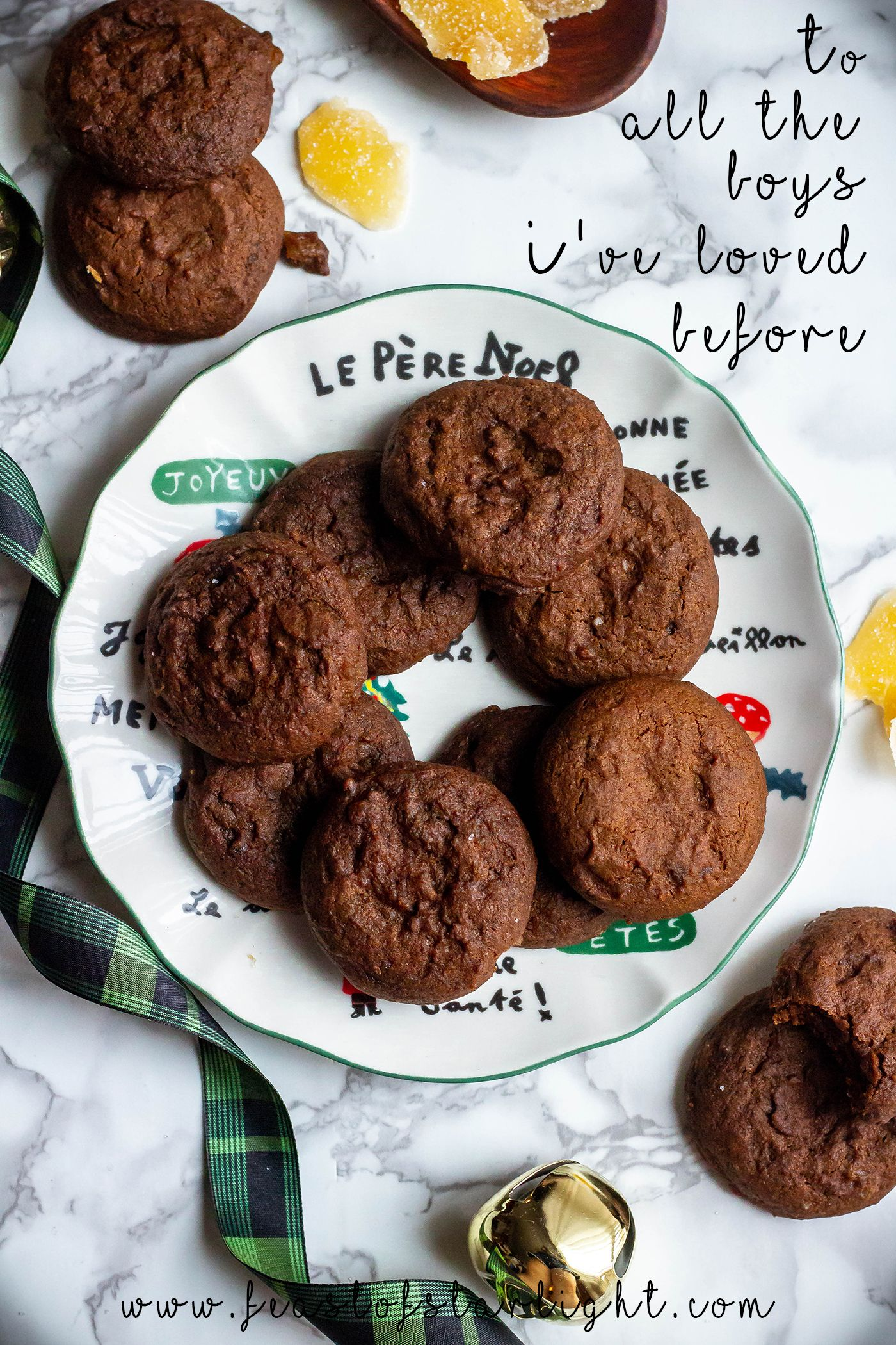To All The Boys I've Loved Before: Molasses Cookies