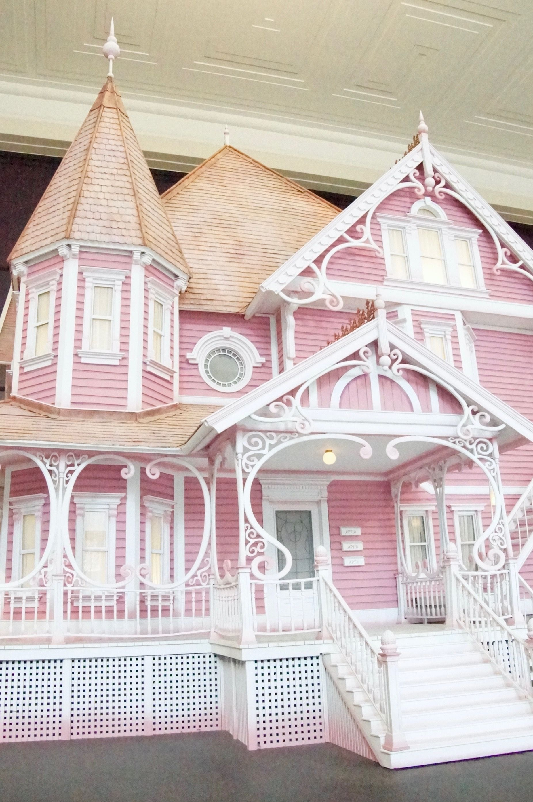 Coraline Set On Display At The Portland Art Museum House Styles Dream House Settings