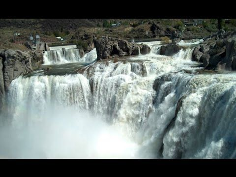 Shoshone fall idaho is the one of many amazing waterfall in USA