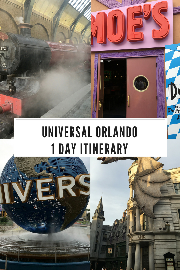 Universal Orlando 1 Day Itinerary Universal Orlando Universal Islands Of Adventure Universal Studios Orlando