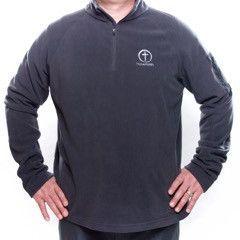 Men's Fleece 1/4 Zip Eddie Bauer - embroidered Have Faith