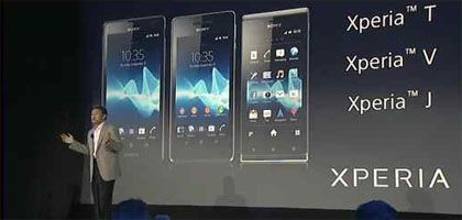 Sony Revealed Their New Smartphones (Xperia T, V, and J). Sony announced at IFA in Berlin their three new models of smartphones called Xperia T, V, and J. Among of these new models, Xperia T is having the best specification with an NFC (Near Field Communication).