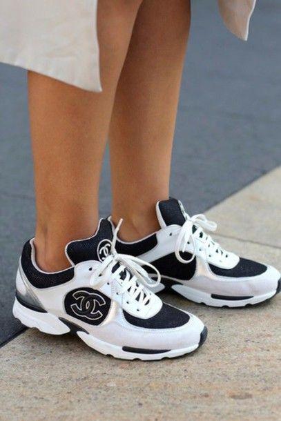 Sporty chanel #sneakers | Trending