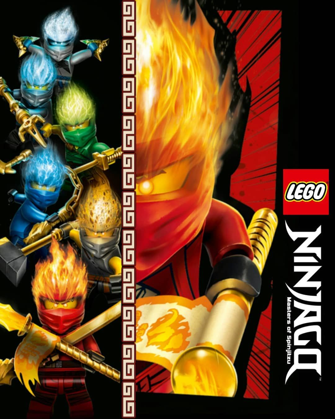 Lego Ninjago Masters Of Spinjitzu Legoninjago