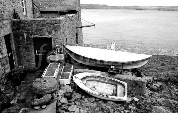 Boats at Lerwick, Shetland. | Shetland & Fair Isle yoal ...