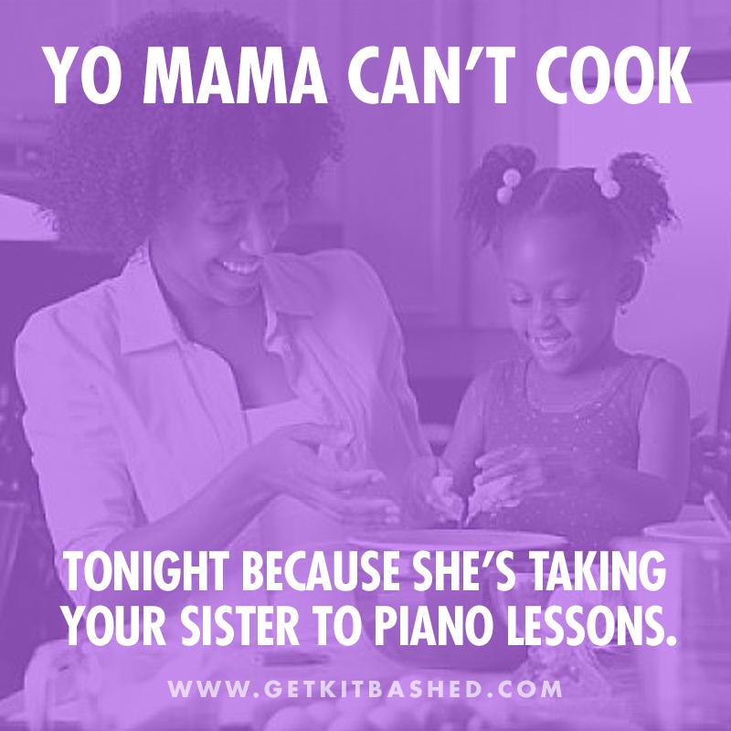 Yo Mama's So… Mama jokes, Portfolio design, Branding design