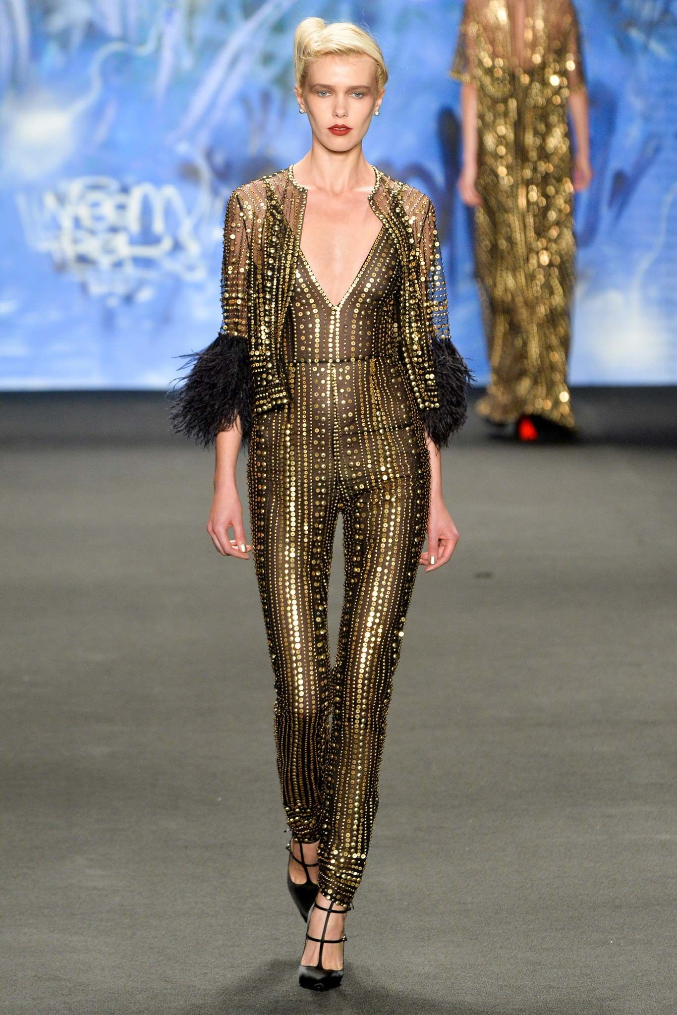 Naeem Khan Fall 2015 Ready-to-Wear Collection Photos - Vogue#1