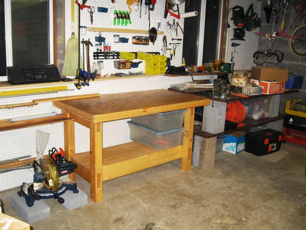 Garage Workbench Plans Could Be Great To Make Perfect Piece Of