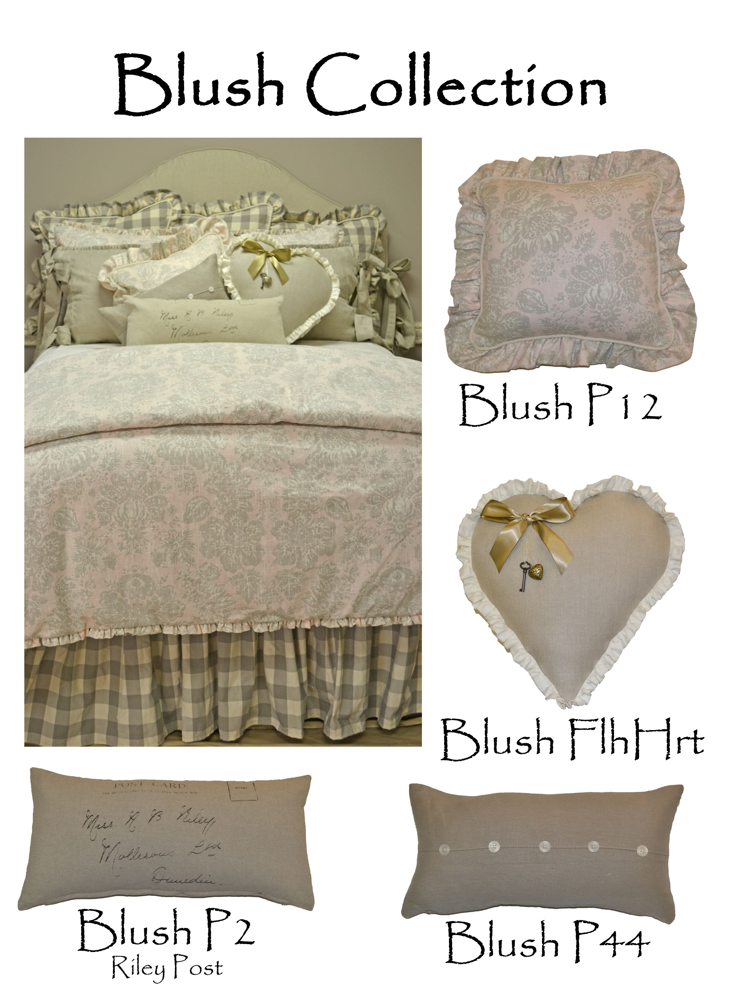 2013 Blush Collection 2013 French Laundry Home Bedding