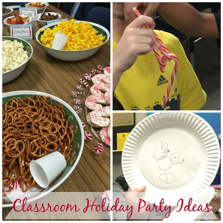 Classroom Holiday Party Ideas for Fifth Graders — Home & Plate