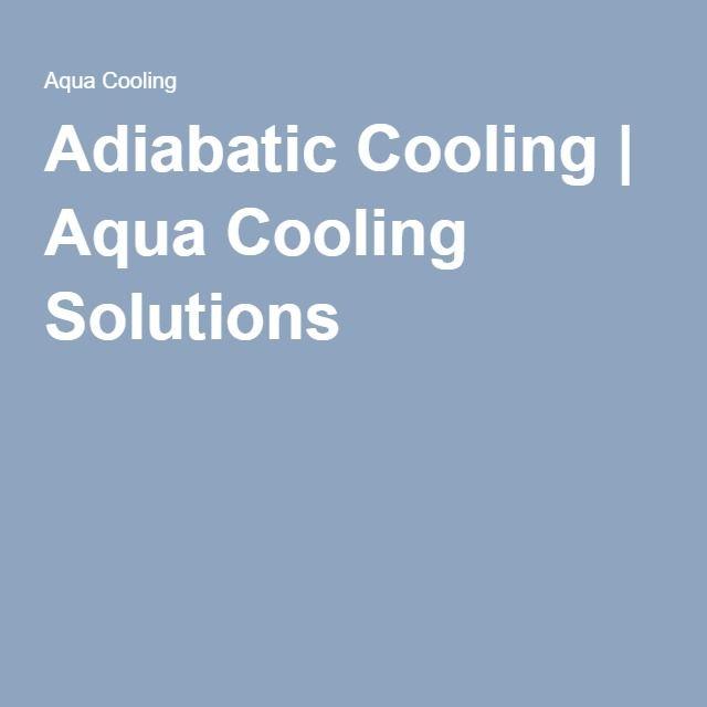 Adiabatic Cooling Aqua Group Aqua Save Energy
