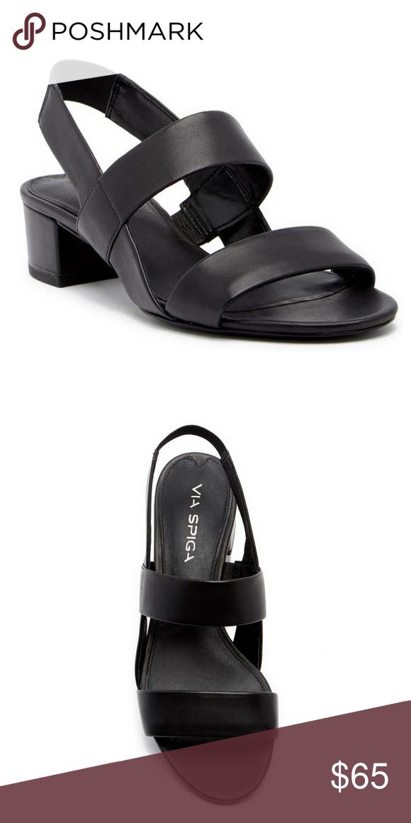 e4bd6ad628 Via Spiga Tiana Slingback Block Heel Sandal 6M Via Spiga Tiana Slingback  Block Heel Sandals 6M, Very comfortable and cute summer shoe. New, never  worn.