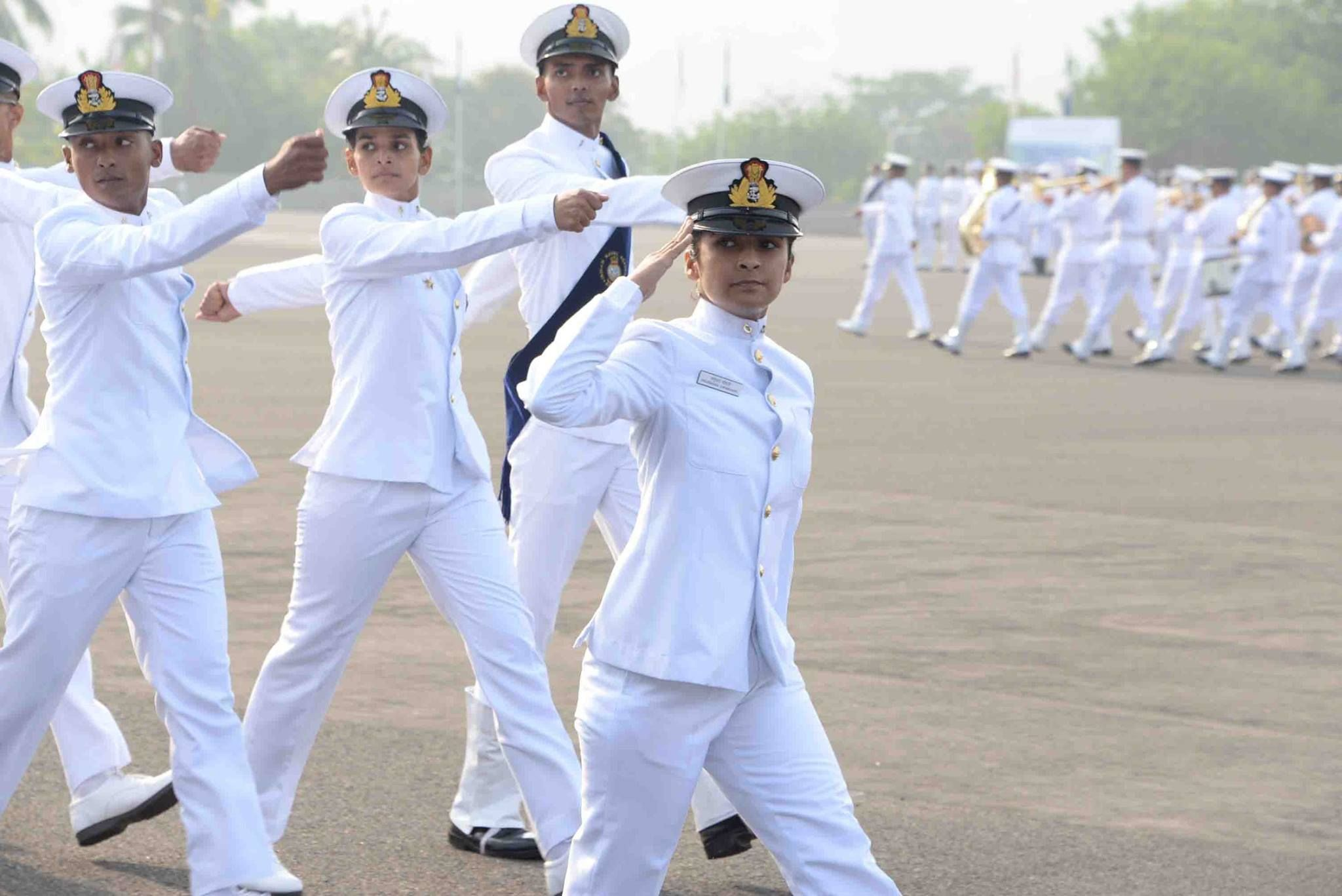 Indian Naval Academy Passing Out Parade 26 Nov 2016