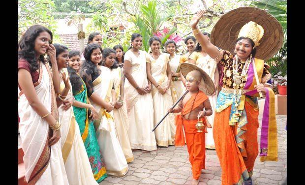 Image result for onam festival keral girls
