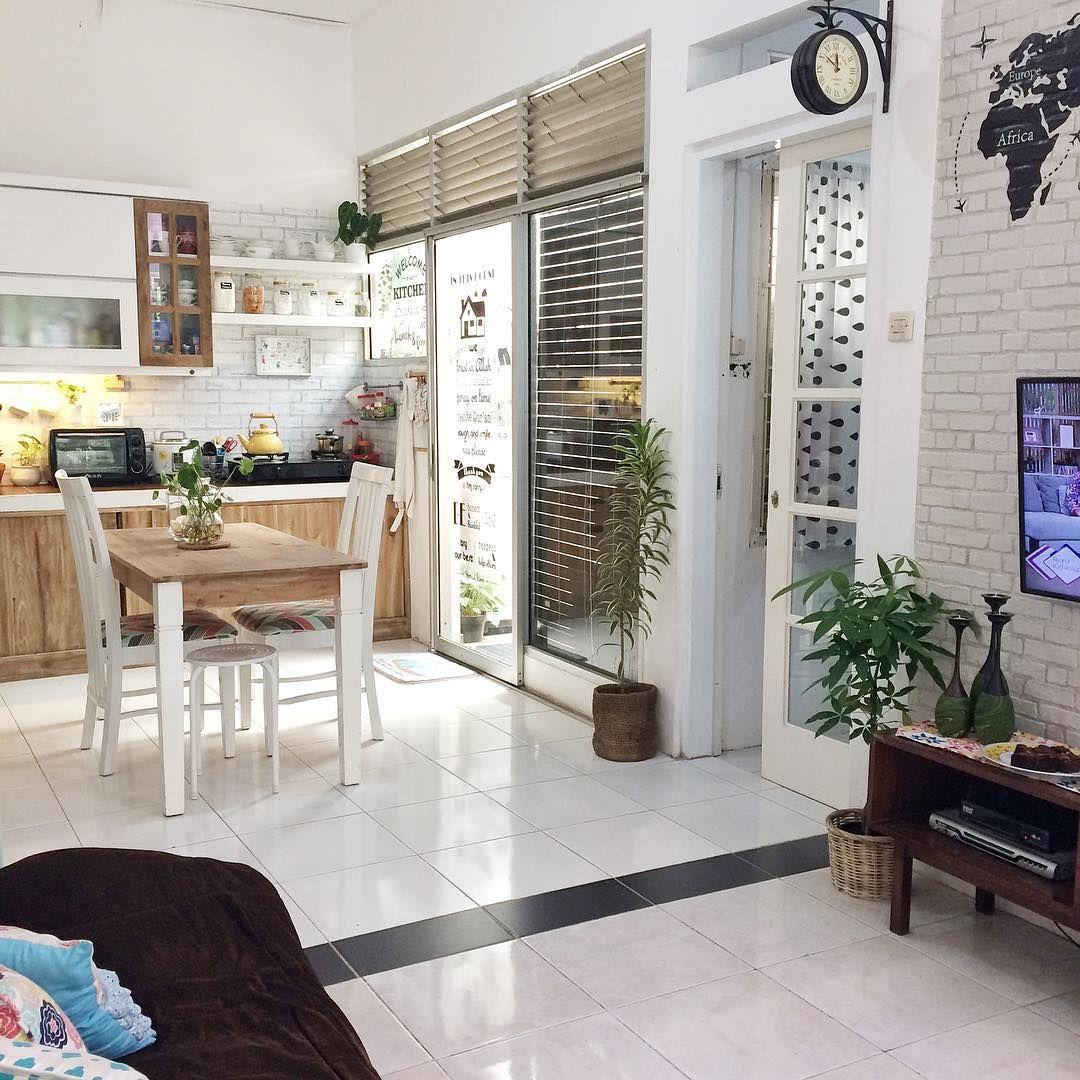 Desain Rumah Vintage Luas 60 M Yang Kekinian & Bikin Nyaman!   IDN Times   Dekorasi Rumah Vintage, Interior, Desain Rumah