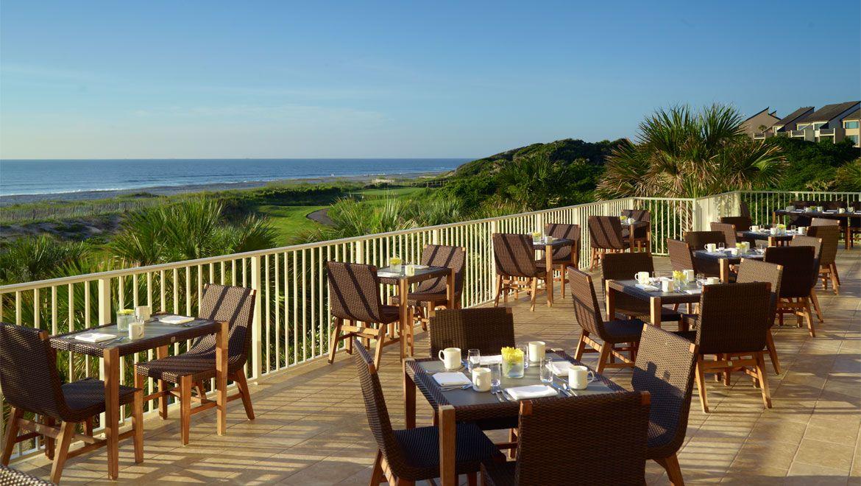 Sunrise Cafe At The Plantation Hotel Amelia Island Fl