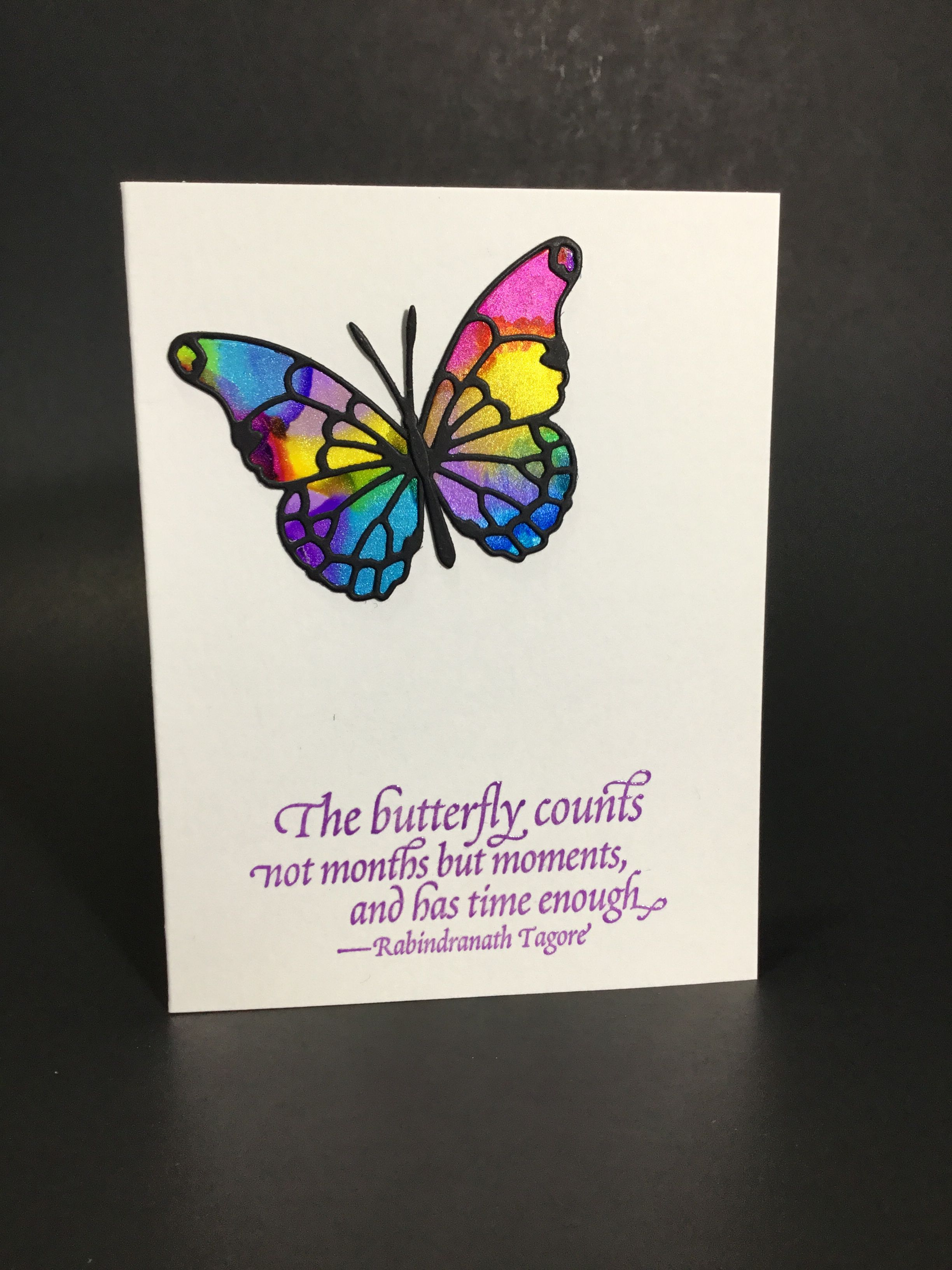 Alcohol Ink Butterfly Inspiration Card Inspirational Cards Alcohol Ink Butterfly Inspiration