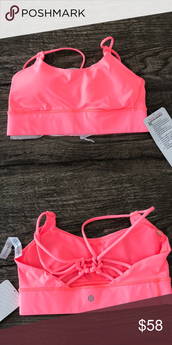 306c650766 Lululemon sunshine salutation bra This is a long line strappy back sports  bra lululemon athletica Other
