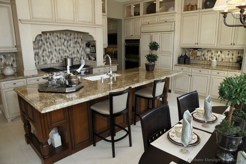 Kitchen of the week designed for both cooking and for Gourmet kitchen island