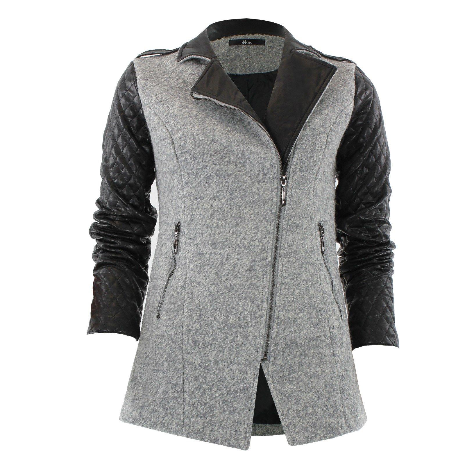manteau bi mati re devant style pinterest manteau. Black Bedroom Furniture Sets. Home Design Ideas
