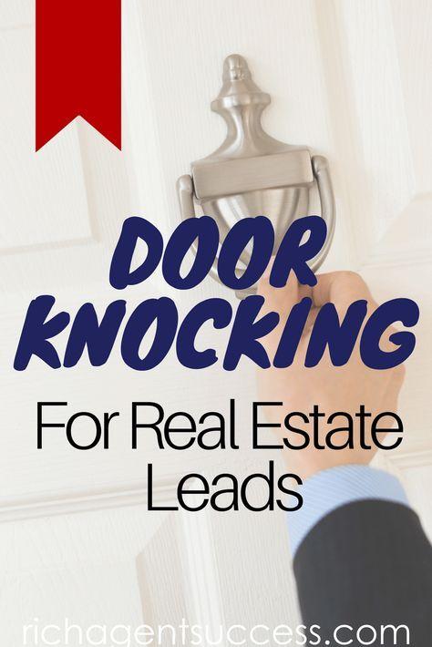 Real Estate Door Knocking Prospecting Realtor leads
