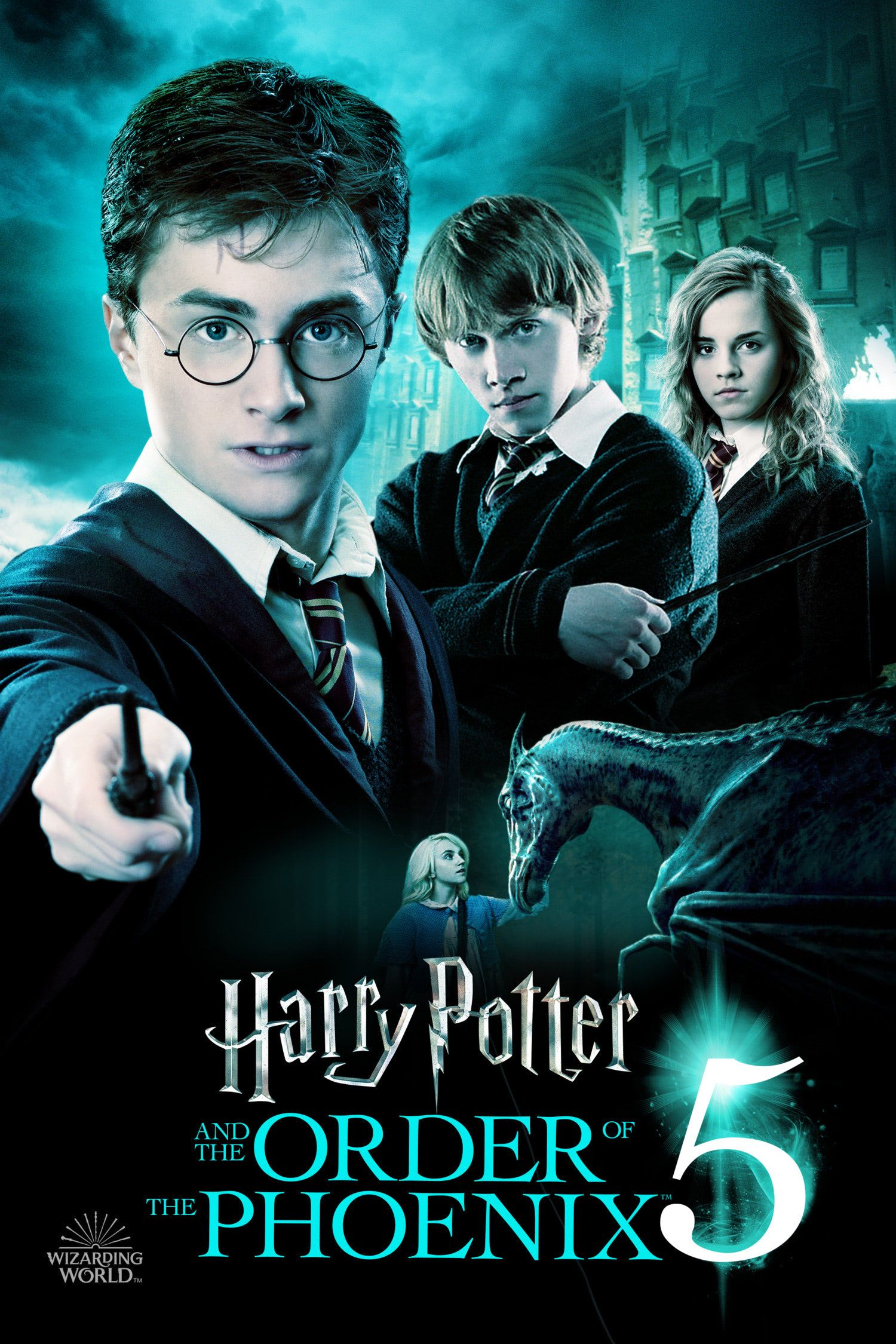 Order Of The Phoenix Wizarding World Poster Harry Potter Fan Zone Harry Potter Movie Posters Harry Potter All Movies Phoenix Harry Potter