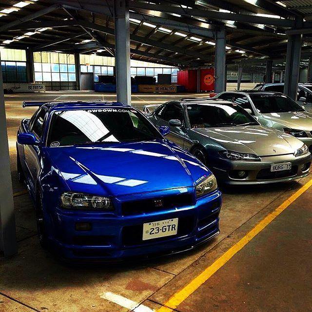 #Nissan #Skyline #GTR #R34 #Silvia #S13 #S14 #S15