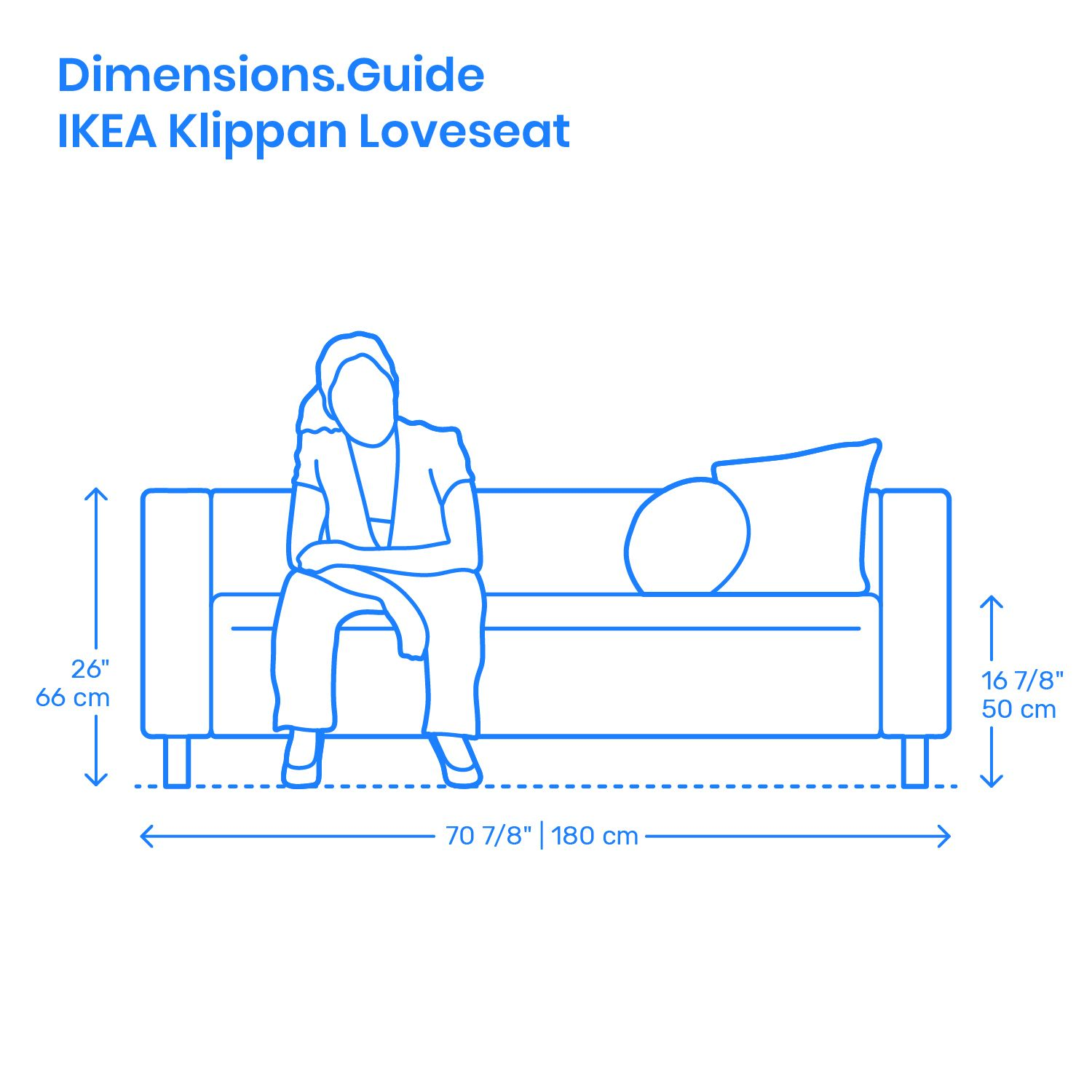 The Ikea Klippan Is A Simple Everyday Loveseat With Built
