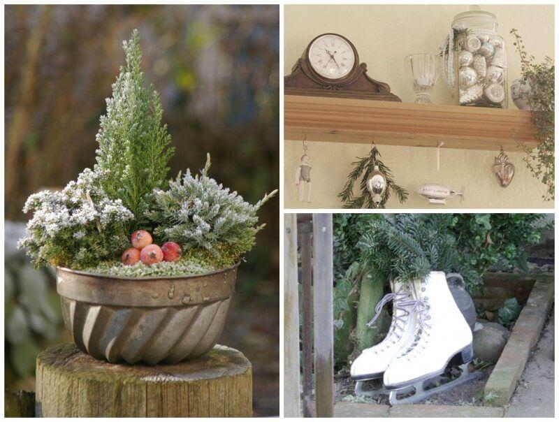 15+ Gartengestaltung Weihnachten