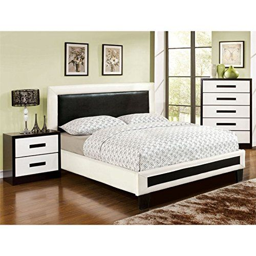 Furniture of America Retticker 3 Piece California King Bedroom Set