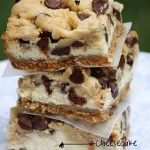 Chocolate Chip Cookie Dough Devil�s Food Cake Cheesecake
