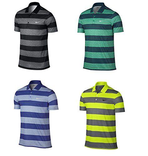 66a78643f Nike Golf Victory Bold Stripe Polo