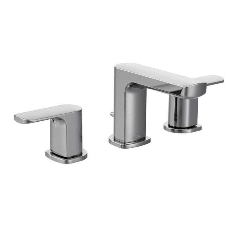 Moen T6920 Low Arc Bathroom Faucet Widespread Bathroom Faucet