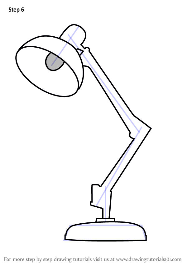 Learn How To Draw Table Lamp Furniture Step By Step Drawing Tutorials In 2020 Table Sketch Furniture Design Sketches Table Lamp