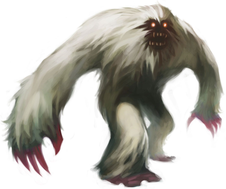 TheWhite Ape, or Mi-Goi