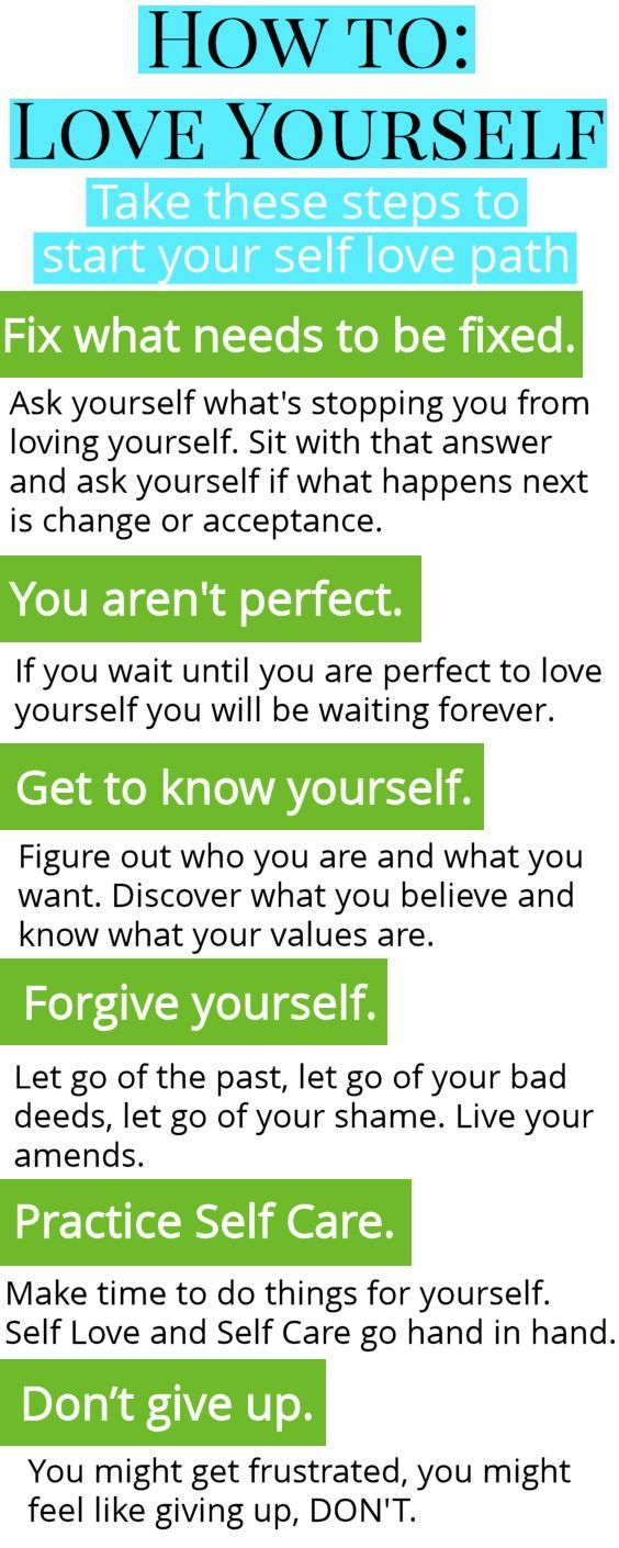 How to love yourself self confidence for happiness pinterest