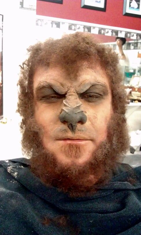 Werewolf Udibg Nose And Scar Wax Crepe Hair By Beckie