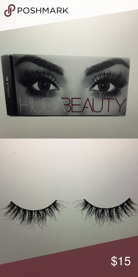 6e24bb1a564 HUDA BEAUTY Classic False Lashes Samantha #7 NIB HUDA BEAUTY Classic False Lashes  Samantha #7 Medium volume, Natural style. Double stacked, dark natural ...