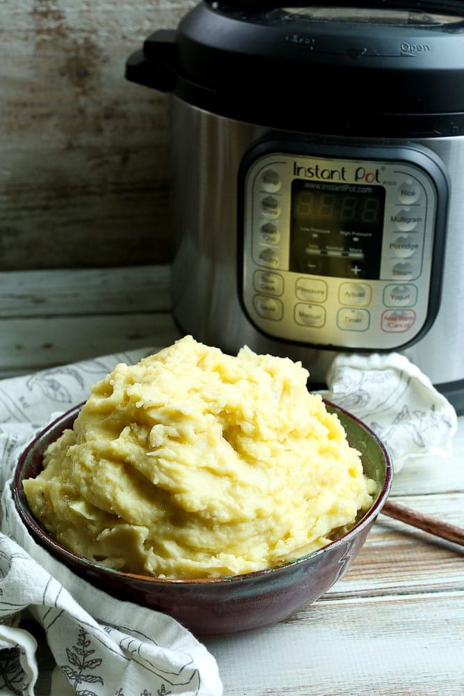 Instant Pot Mashed Potatoes #instantpotmashedpotatoes