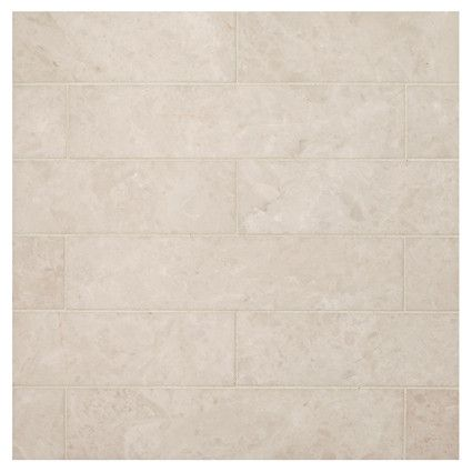Natural Stone Marble Tile Bourges Beige 2 X 9 Honed Finish